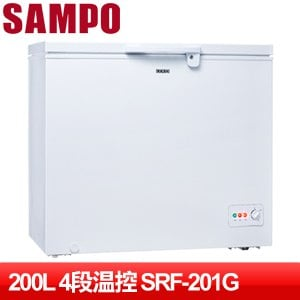 SAMPO 聲寶 200公升上掀式冷凍櫃 SRF-201G